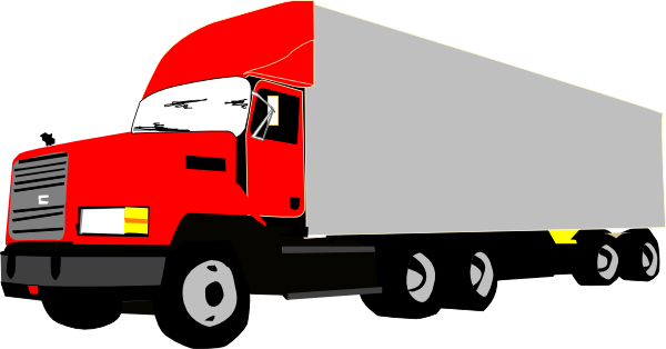 Cargo Trailer Cliparts   Free Download C-Cargo Trailer Cliparts   Free Download Clip Art   Free Clip Art with regard  to Cargo Truck Clipart-11
