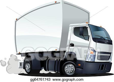 Cartoon delivery / cargo truck-Cartoon delivery / cargo truck-5