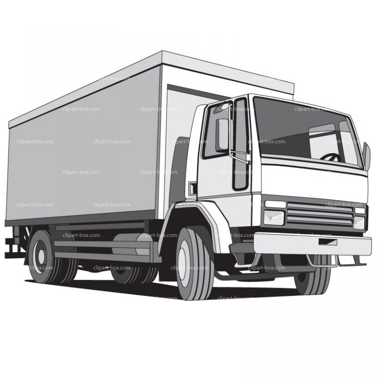 Clipart Delivery Cargo Truck u2013 Clip Art Library in Cargo Truck Clipart