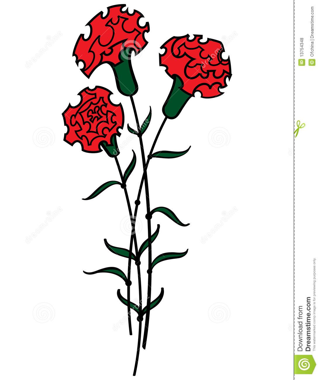 Carnation Clip Art - Carnation Clip Art