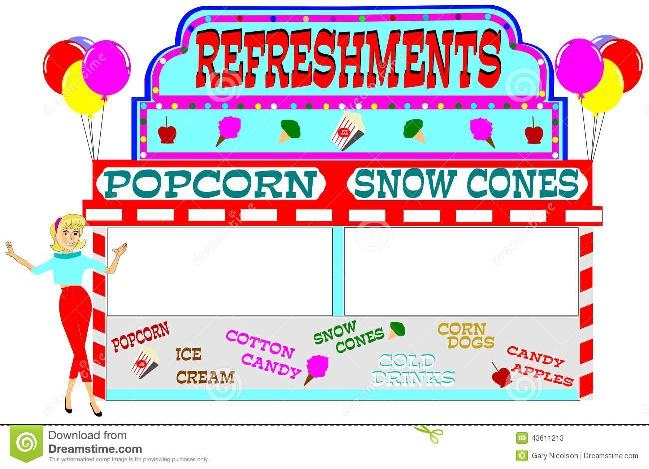 59+ Concession Stand Clipart | ClipartLook