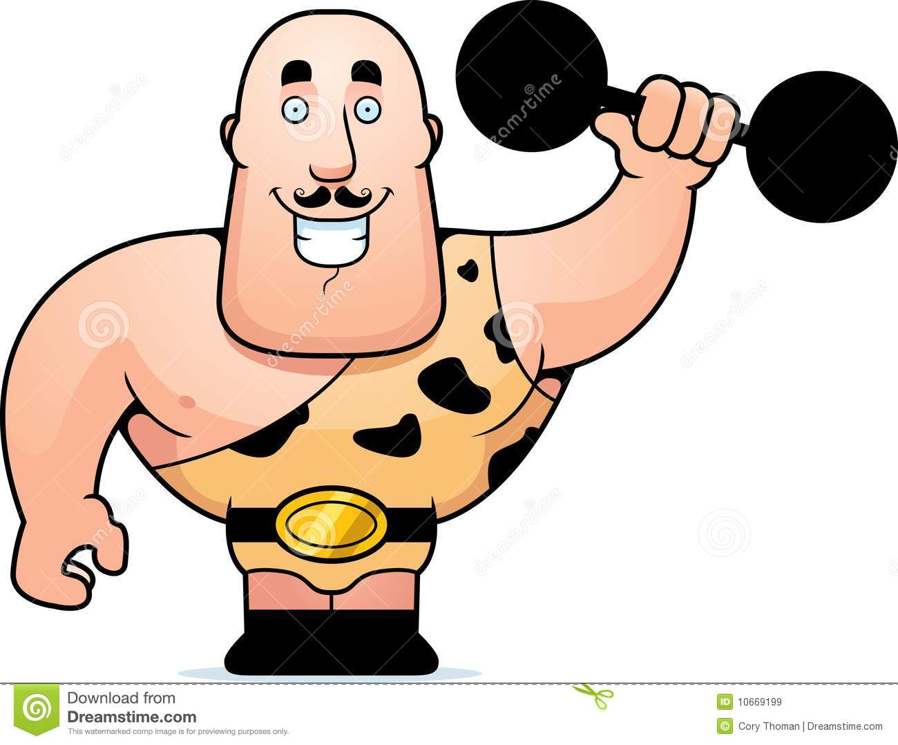 Carnival Strong Man Clipart #1-Carnival Strong Man Clipart #1-2