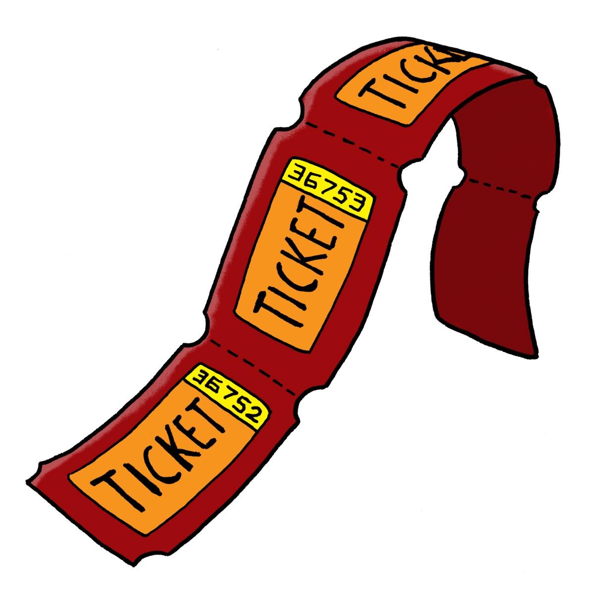 Carnival Ticket Clip Art