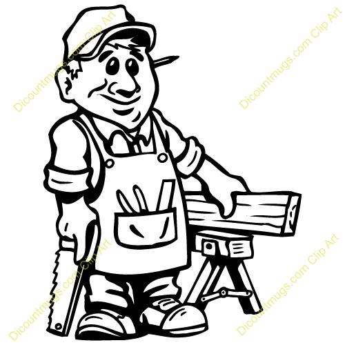 Carpenter Clipart-carpenter clipart-1