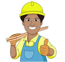 Construction Worker Clip Art