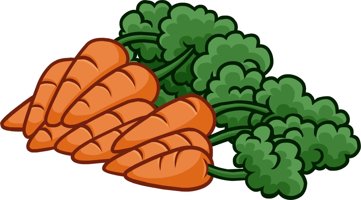 Carrot Clipart #19543-Carrot Clipart #19543-5