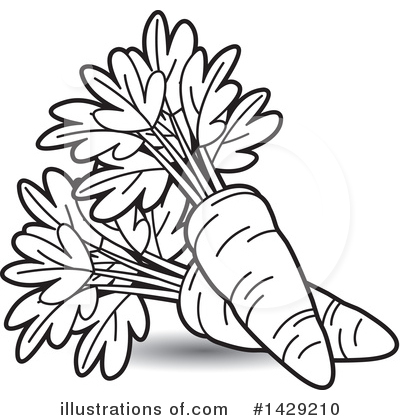 Royalty-Free (RF) Carrot Clipart Illustr-Royalty-Free (RF) Carrot Clipart Illustration #1429210 by Lal Perera-18