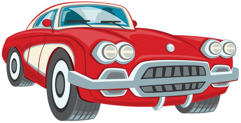 Cars classic car show clipart .