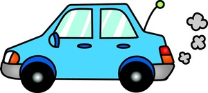 Cars Clipart Image Light Blue Compact Ca-Cars Clipart Image Light Blue Compact Car Putting Along In This-5