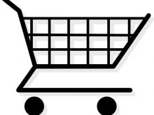 Grocery Cart Clipart shopping cart vector illustration clip art vector  search drawings alarm clock clipart