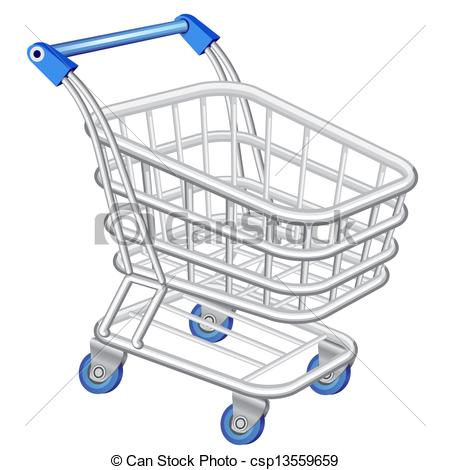 Shopping cart - csp13559659
