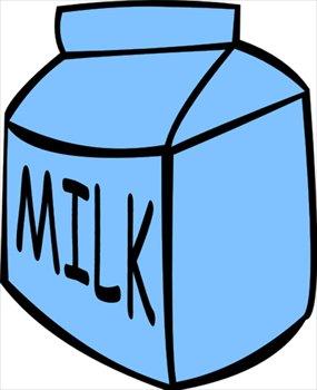 carton of milk clipart
