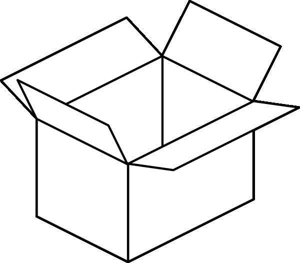 Carton Open Box Clip Art At ..