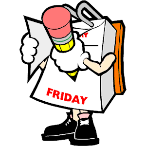 Cartoon 6 Friday Clipart Cliparts Of Cartoon 6 Friday Free