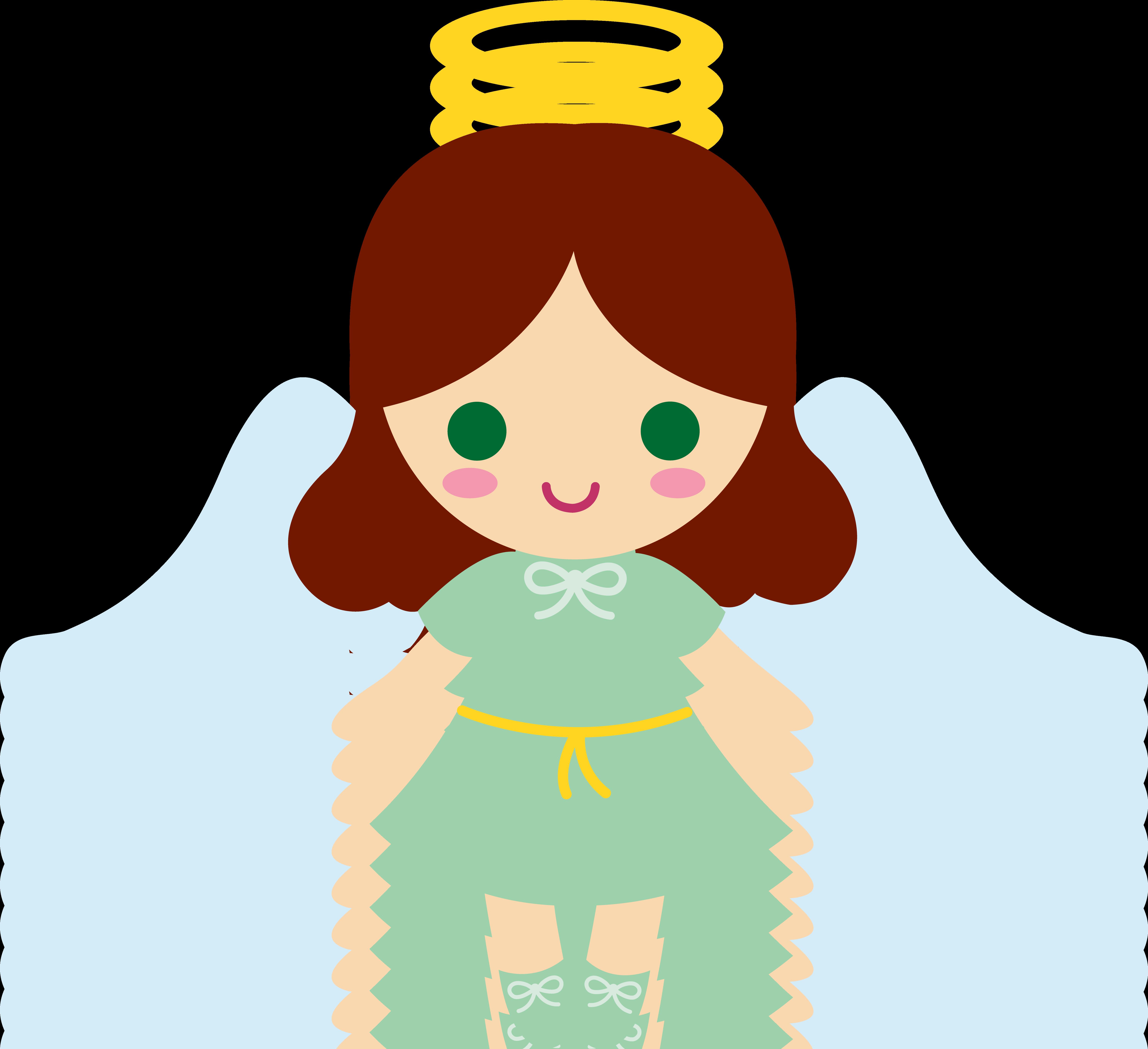 Cartoon Angels Clipart