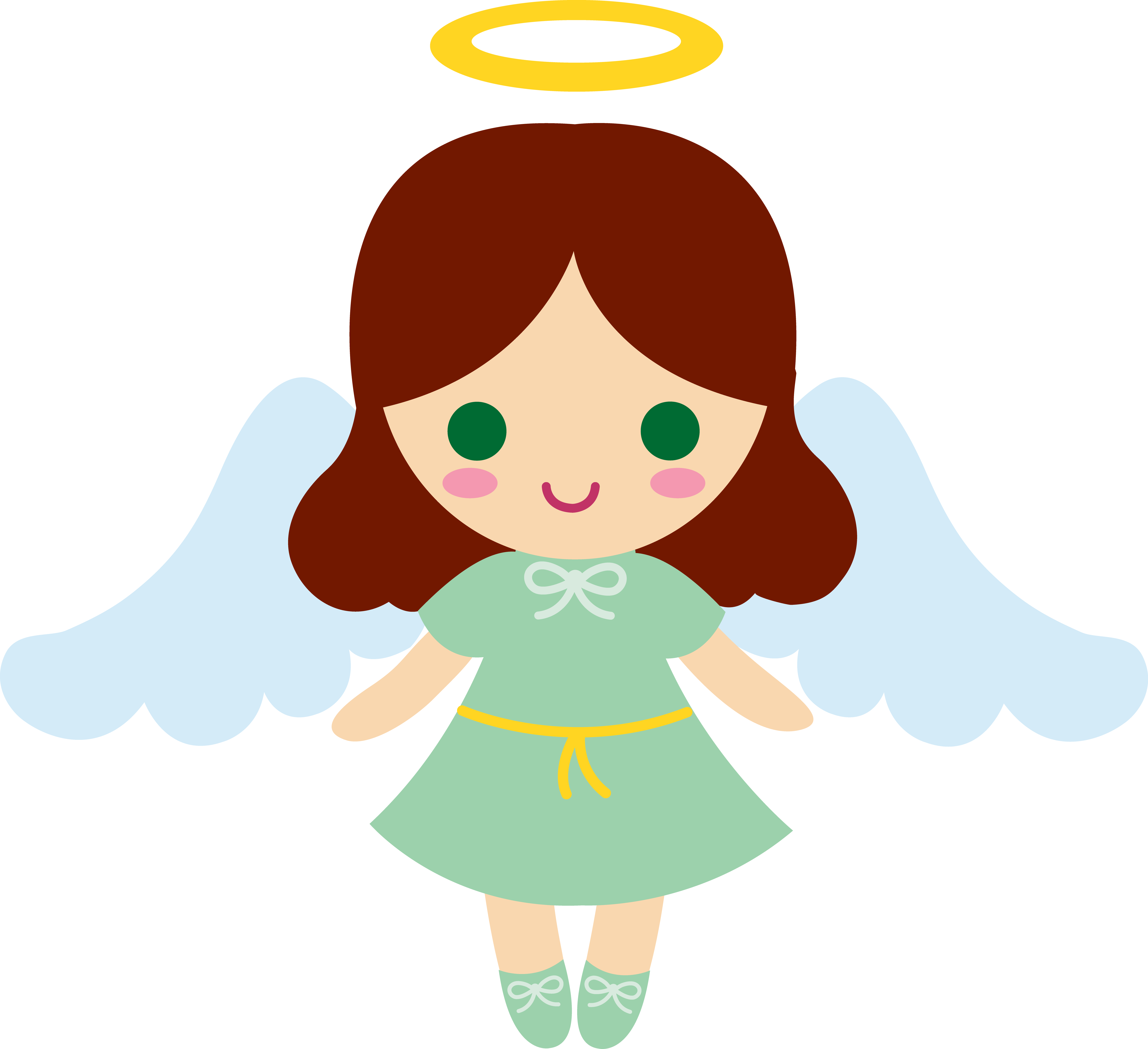 Cartoon Angels Clipart