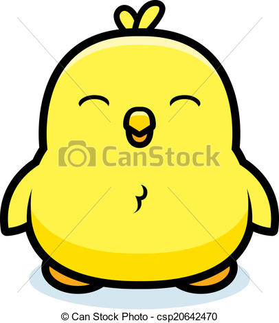 ... Cartoon Baby Chick - A Cartoon Baby -... Cartoon Baby Chick - A cartoon baby chick smiling and happy.-7