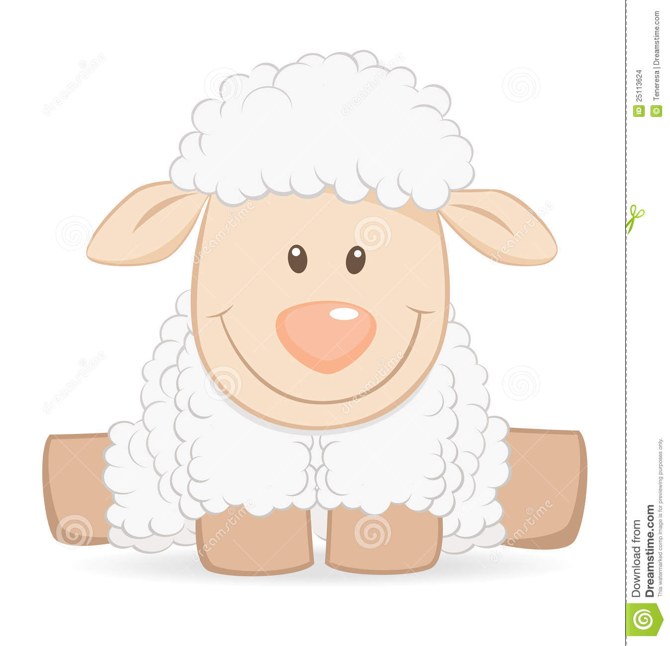 Cartoon Baby Sheep Stock Images Image 25-Cartoon Baby Sheep Stock Images Image 25113624-12