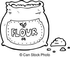 ... cartoon bag of flour