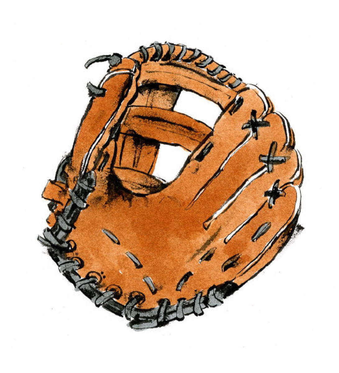 Cartoon baseball glove free download clip art