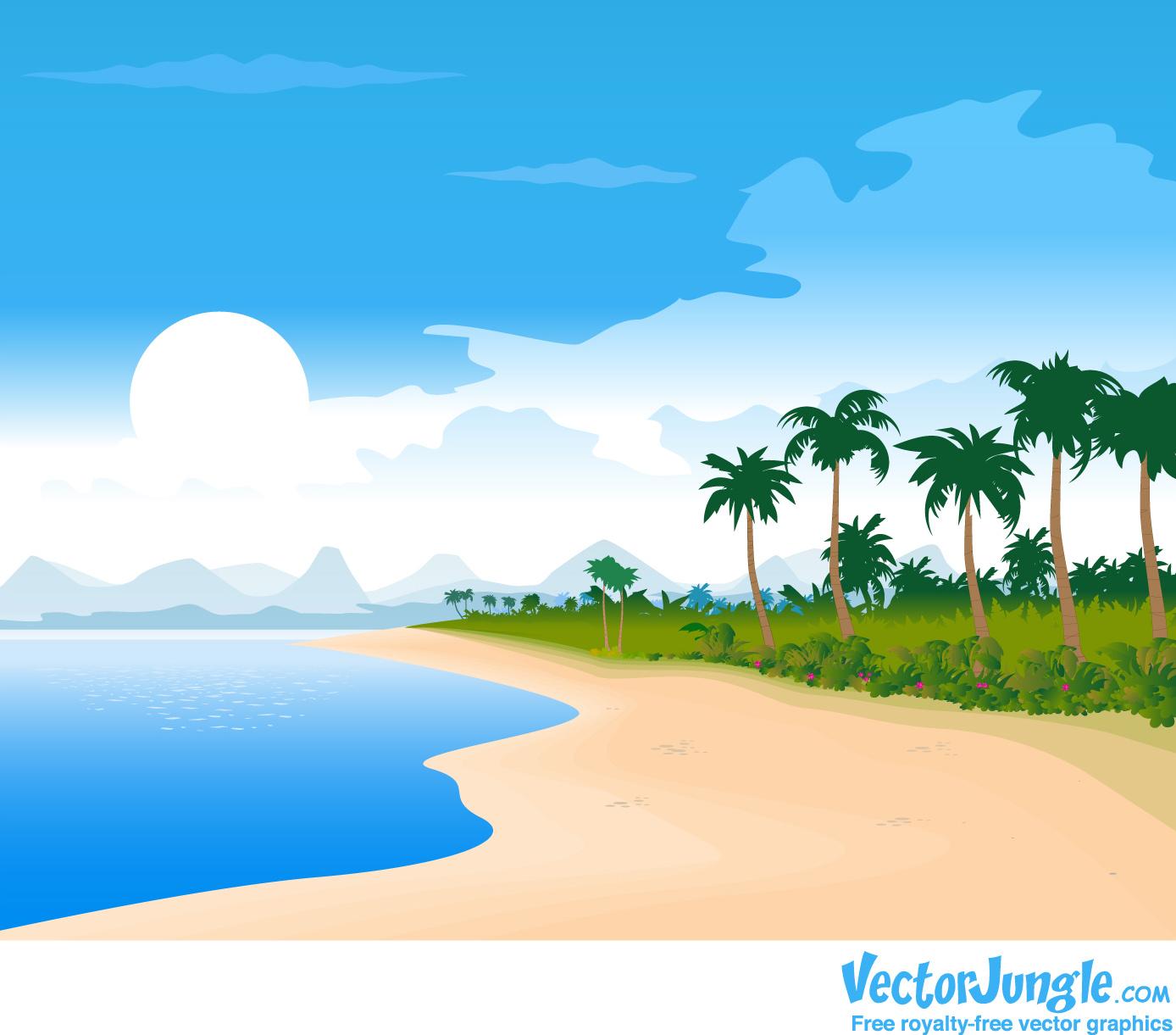 Cartoon Beach Wallpaper Cartoon Images-Cartoon Beach Wallpaper Cartoon Images-12