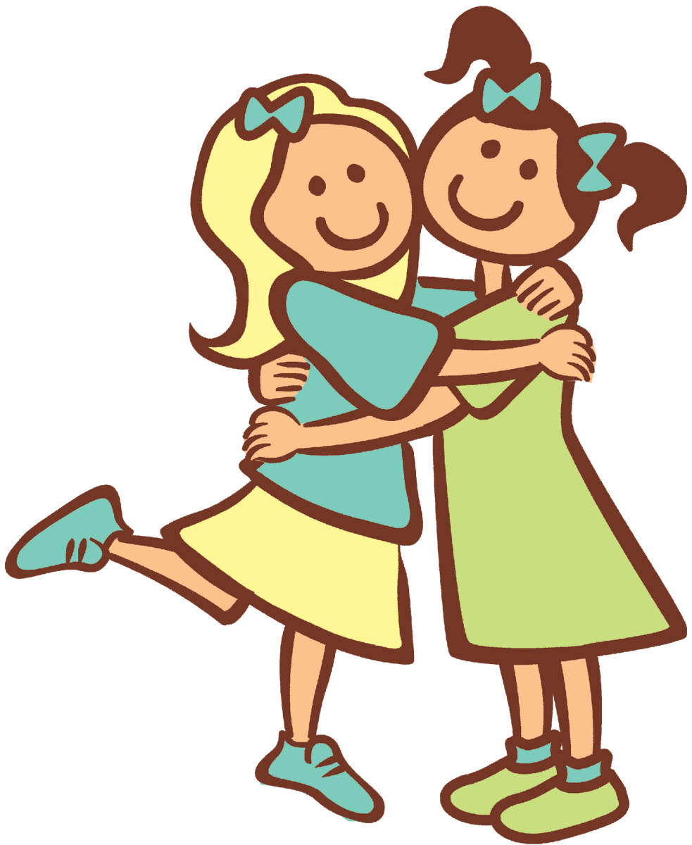 Cartoon Best Friends Clipart Best