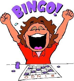 Cartoon bingo clip art dromggi .