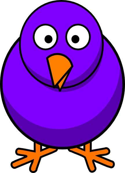 Cartoon Bird Clip Art At Clker Com Vector Clip Art Online Royalty