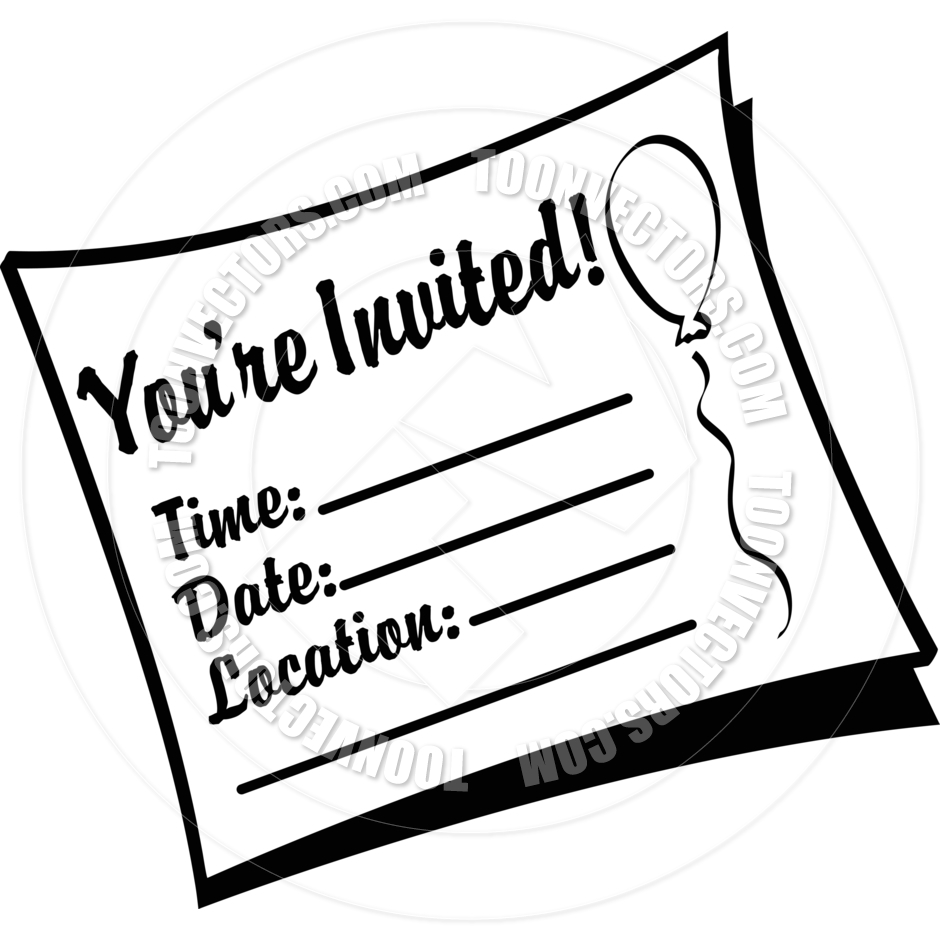 Cartoon Birthday Invitation .-Cartoon Birthday Invitation .-7