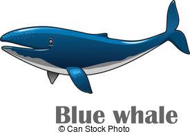 ... Cartoon blue whale - Cartoon smiling-... Cartoon blue whale - Cartoon smiling blue whale isolated on.-17