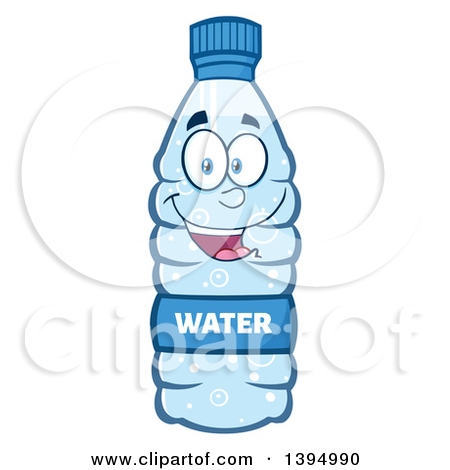 Cartoon Bottled Water Mascot By Hit Toon-Cartoon Bottled Water Mascot by Hit Toon-5