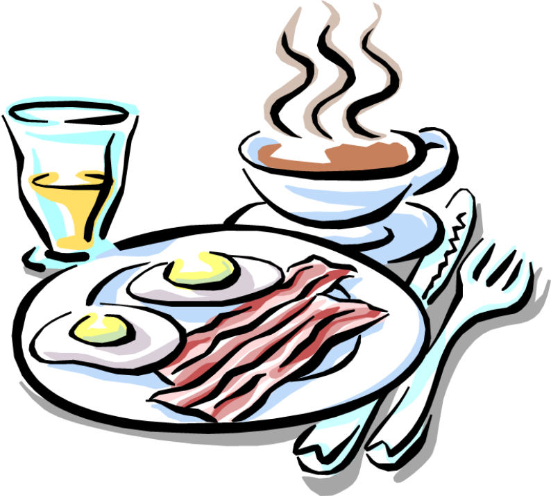 Cartoon Breakfast Clip Art