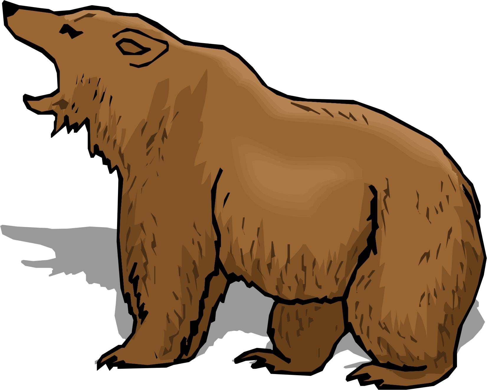 Cartoon Brown Bear - Clipart Library-Cartoon Brown Bear - Clipart library-11
