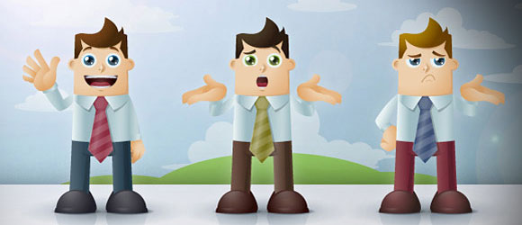 cartoon business characters - Free Business Clipart For Presentations