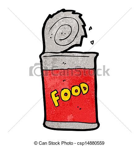 ... cartoon canned food