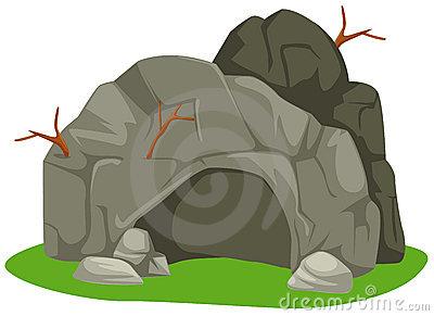 Cartoon Cave Clip Art