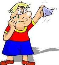 cartoon character waving hank - Farewell Clip Art