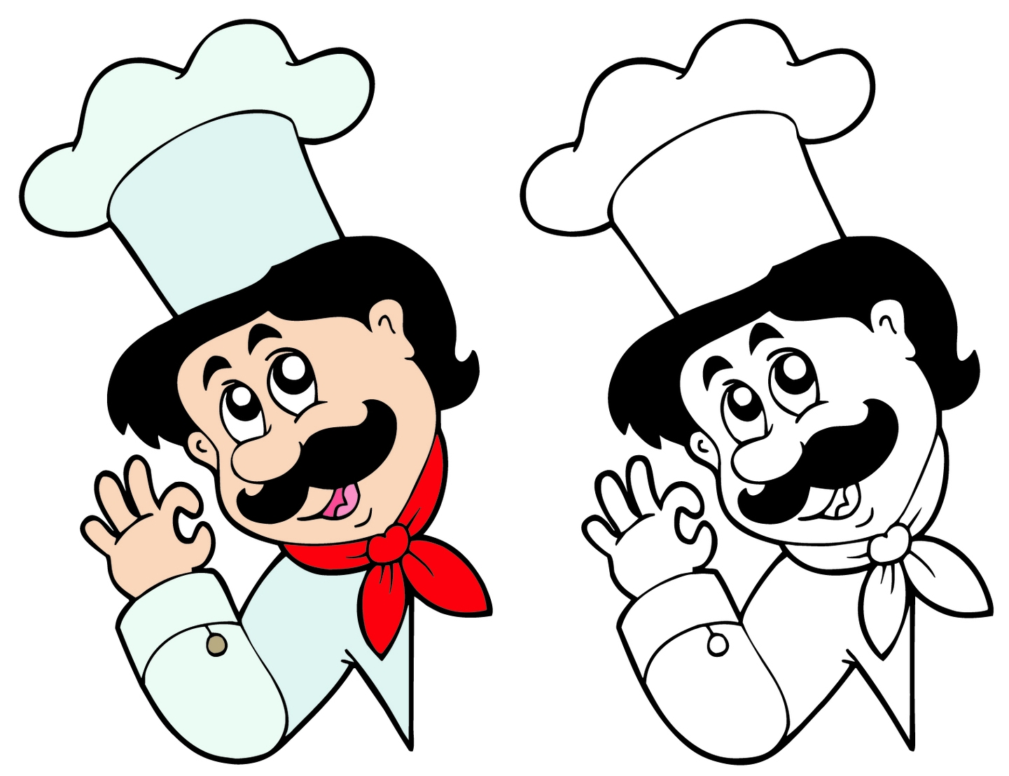 Cartoon Characters Chef 06 - Chef Clipart Free