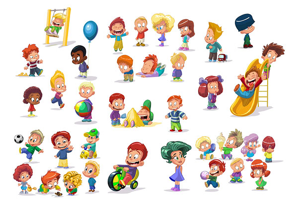 cartoon-children-clip-art- .