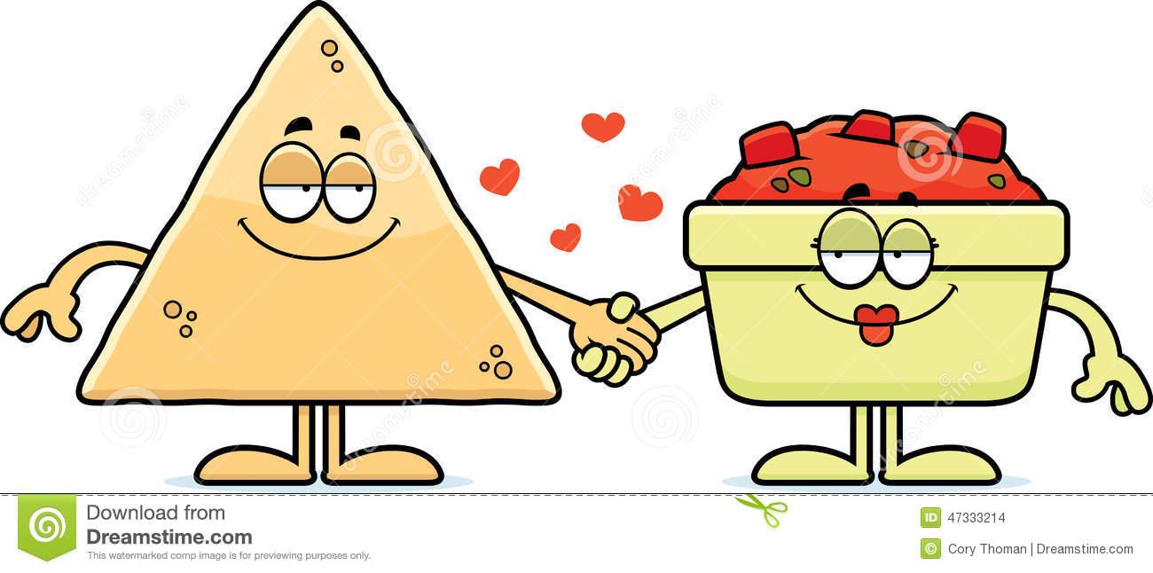 Cartoon Chips and Salsa .-Cartoon Chips and Salsa .-8