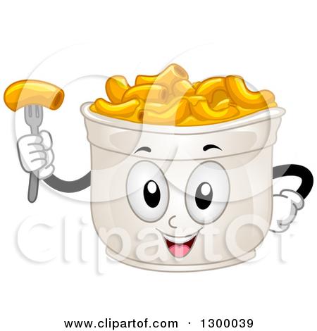 Cartoon Cup Of Macaroni And Cheese Chara-Cartoon Cup Of Macaroni And Cheese Character by BNP Design Studio-3