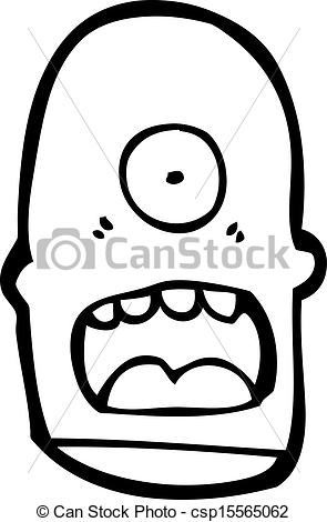 cartoon cyclops Stock Illustr - Cyclops Clipart