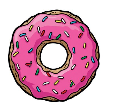 Cartoon donut clipart free clip art images image clipart