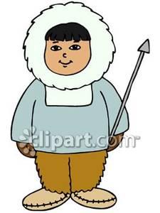 Cartoon eskimo clip art
