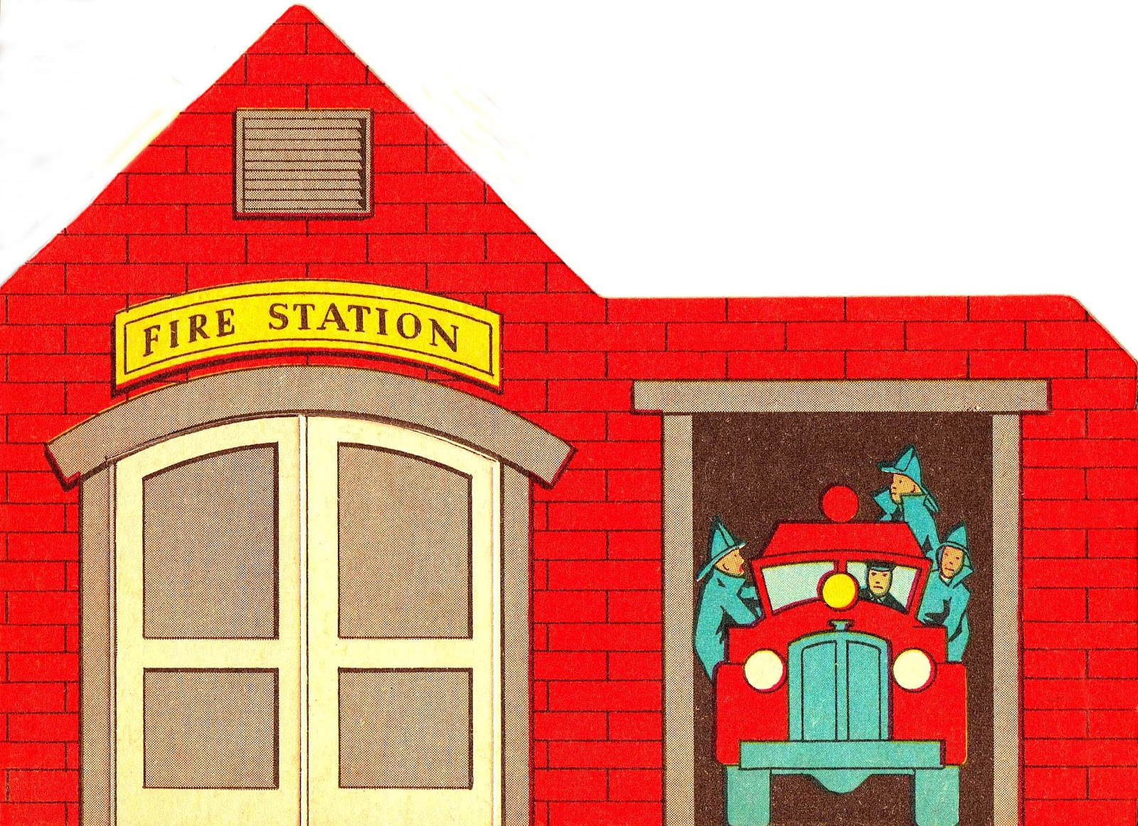 Cartoon Fire Station Free Cliparts That You Can Download To You