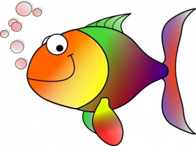Cartoon Fish clip art .