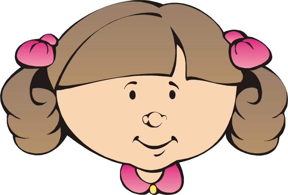 Cartoon Girl Face Clipart Best