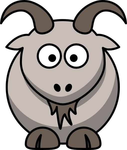 Cartoon Goat clip art