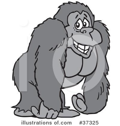 Cartoon Gorilla Clip Art