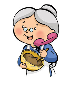 Cartoon Grandma Clipart. Grandma Image